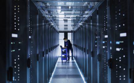 banner image. Tech server room.