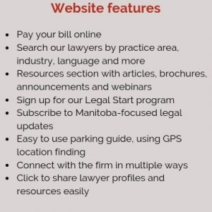 Tylor McCaffrey LLP's website features